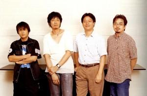 Tetsuya Nomura, Yusuke Naora, Yoshinori Kitase, Kazushige Nojima