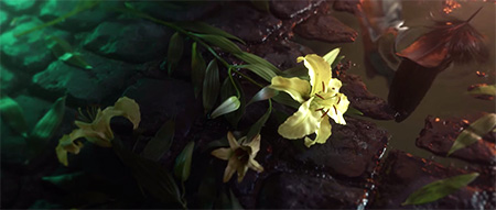 Aerith's Flower and Sephiroth's Feather