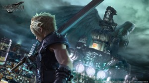 Key Artwork with Cloud and Sephiroth