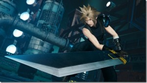 Mobius Final Fantasy featuring Cloud with Buster Sword