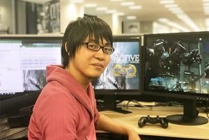 Development Leader Naoki Hamaguchi